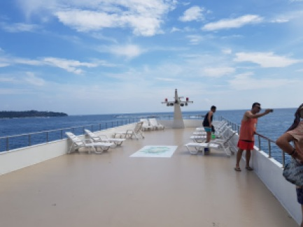 Big boat top deck, My time in Phuket
