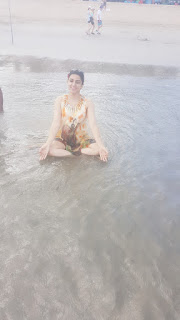 Me at Kutta beach, Bali, Indonesia