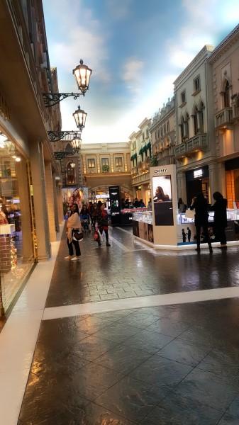 Shopping Arcade, Venetian