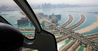 Helicopter ride, Dubai