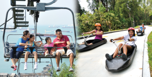 Luge ride + Go karting, Sentosa, Singapore
