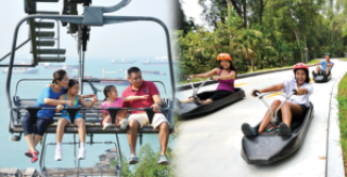 Luge ride + Go karting, Sentosa, Singapore