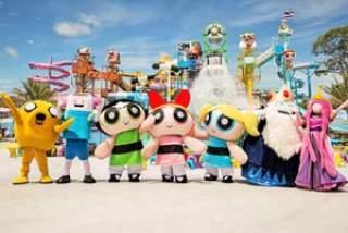 Cartoon network, Waterpark, Pattaya, Thailand