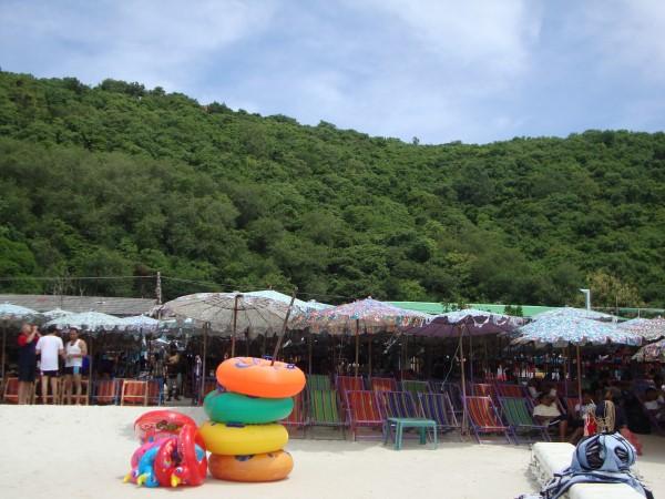 Seating, Coral Island, Pattaya