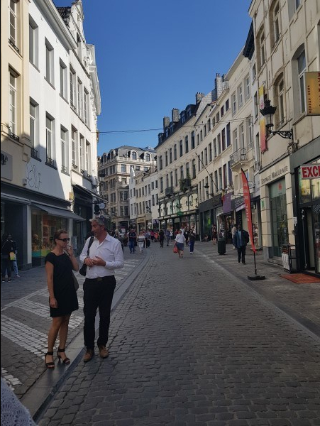 Areas near Grand Place, Brussels