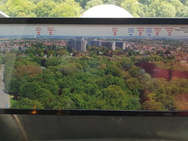 Observation Deck, Atomium, Brussels