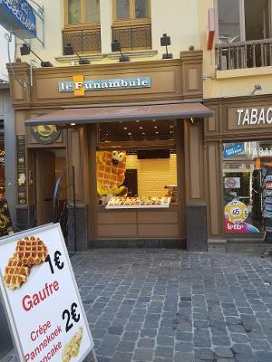 Waffle shop, Brussels, Belgium