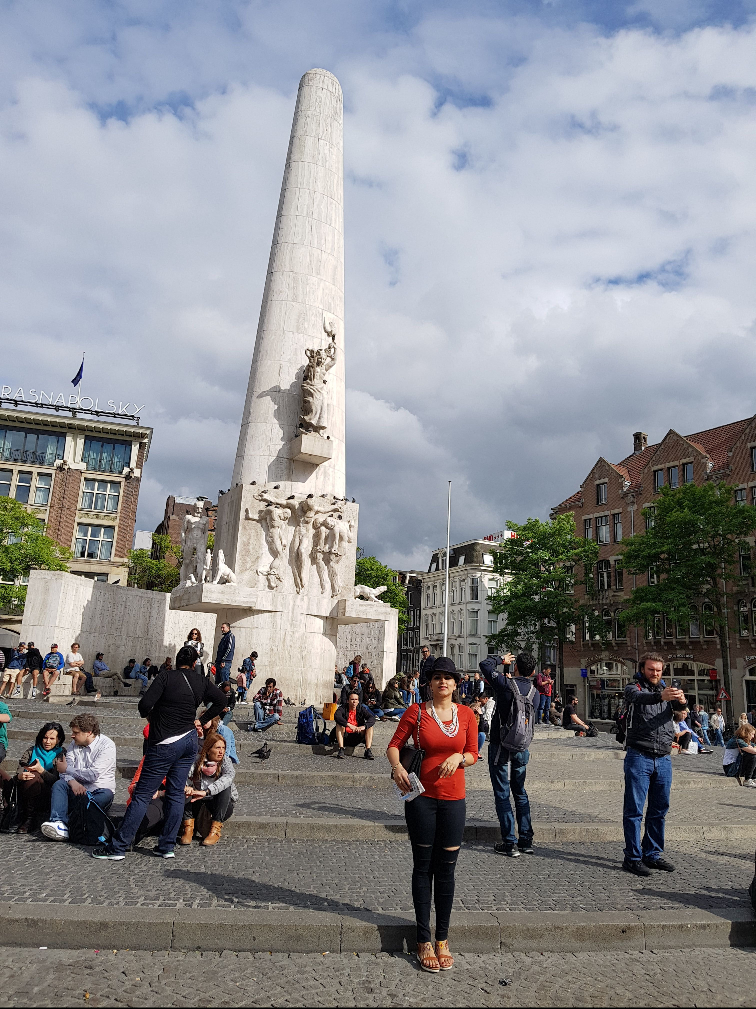 The Nationa Monument, Amsterdam