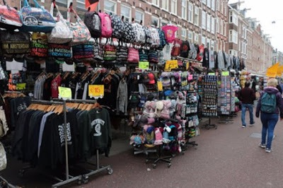 The Albert Cuyp Market, Amsterdam, Netherlands