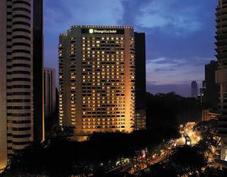 Shagri-La hotel at night, Kuala Lumpur, Malaysia
