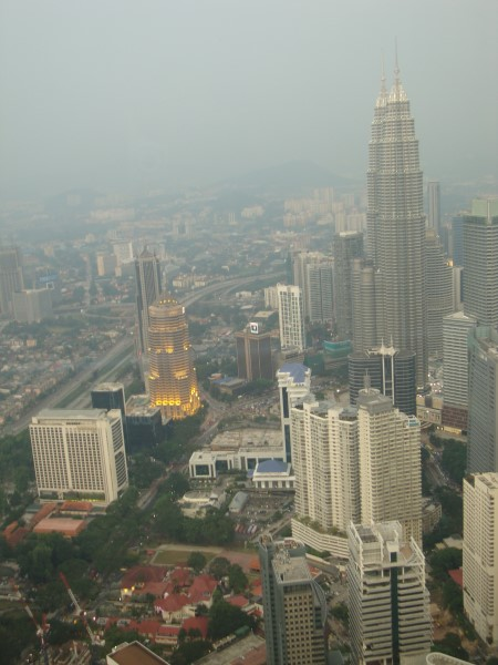 View from Kuala Lumpur tower