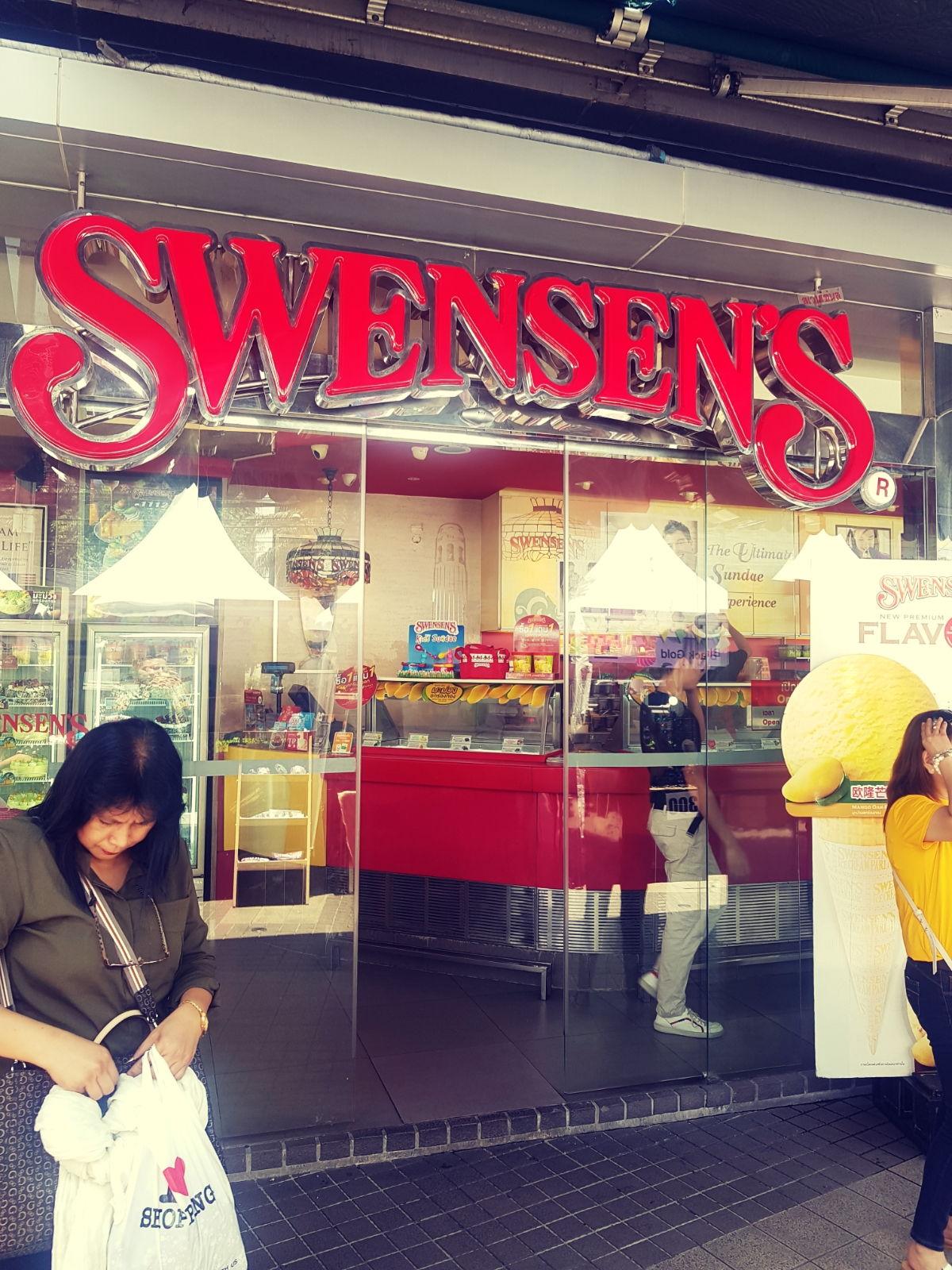 Swensens Ice Cream Parlour, Bangkok, Thailand