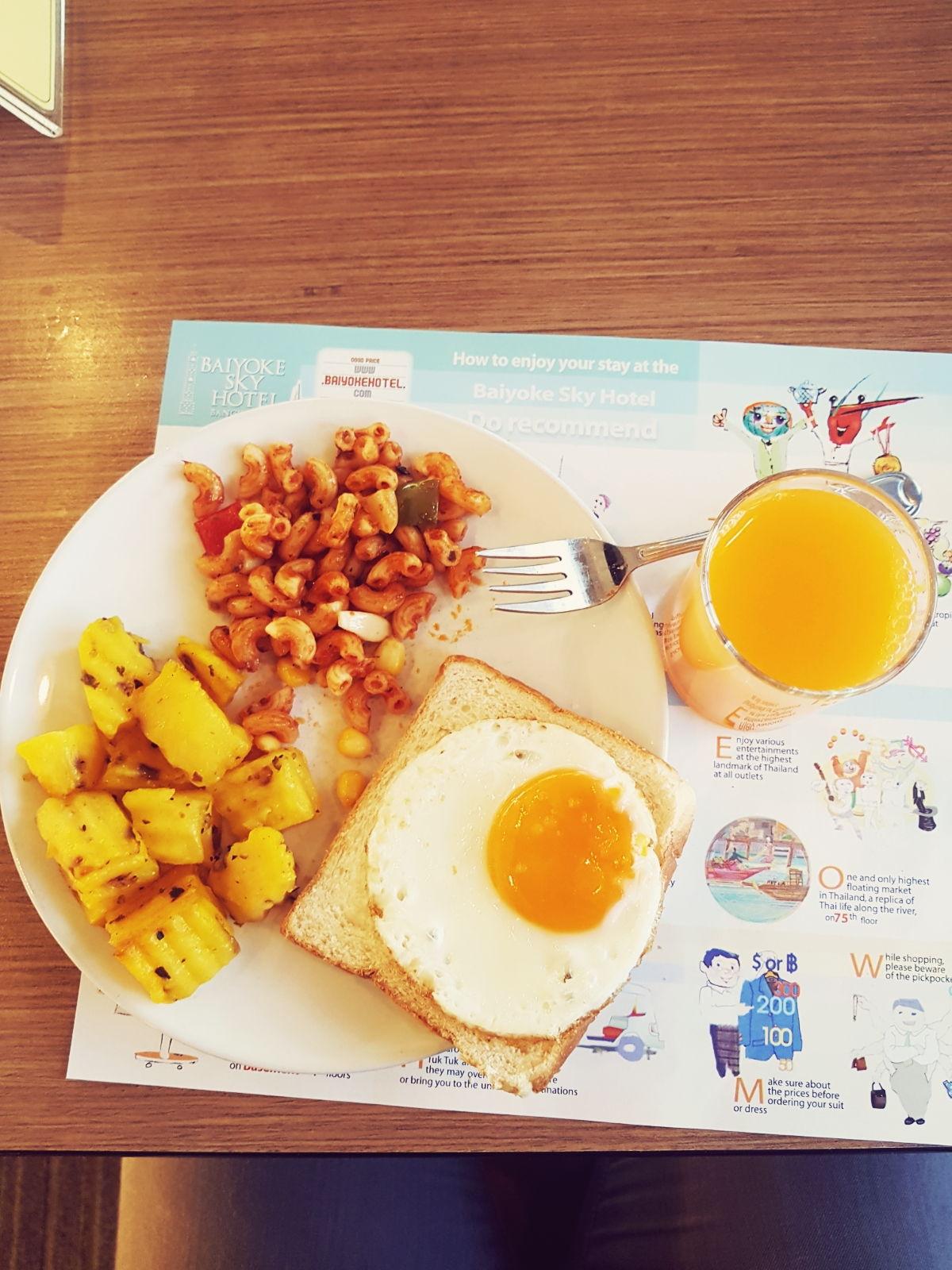 Breakfast Buffet, Baiyoke Sky Hotel, Bangkok, Thailand