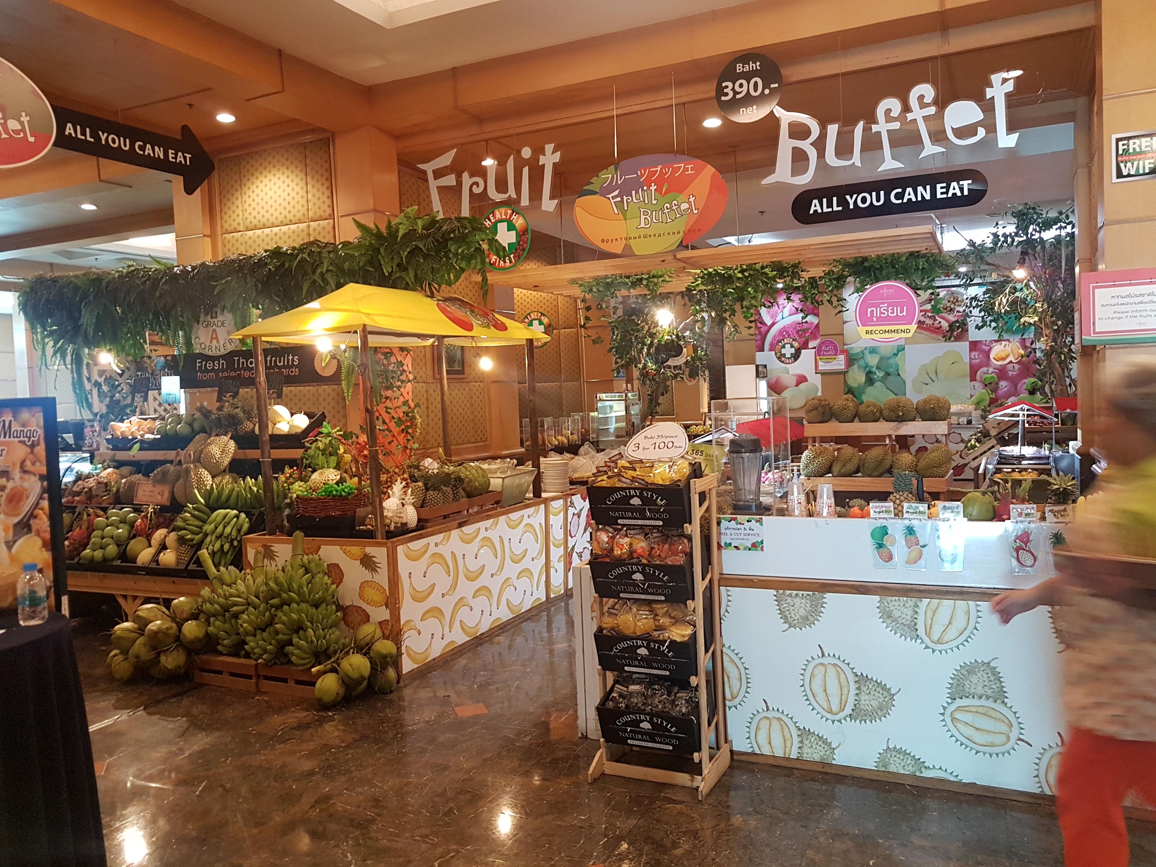 Fruit Buffet, Baiyoke Sky Hotel, Bangkok, Thailand