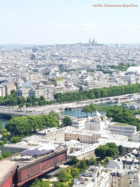 View from 2nd floor - Paris tour guide - livetotravelsaniyapuri